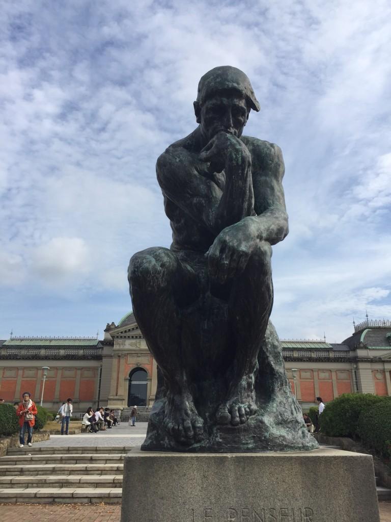 国立京都博物館、ロダン考える人