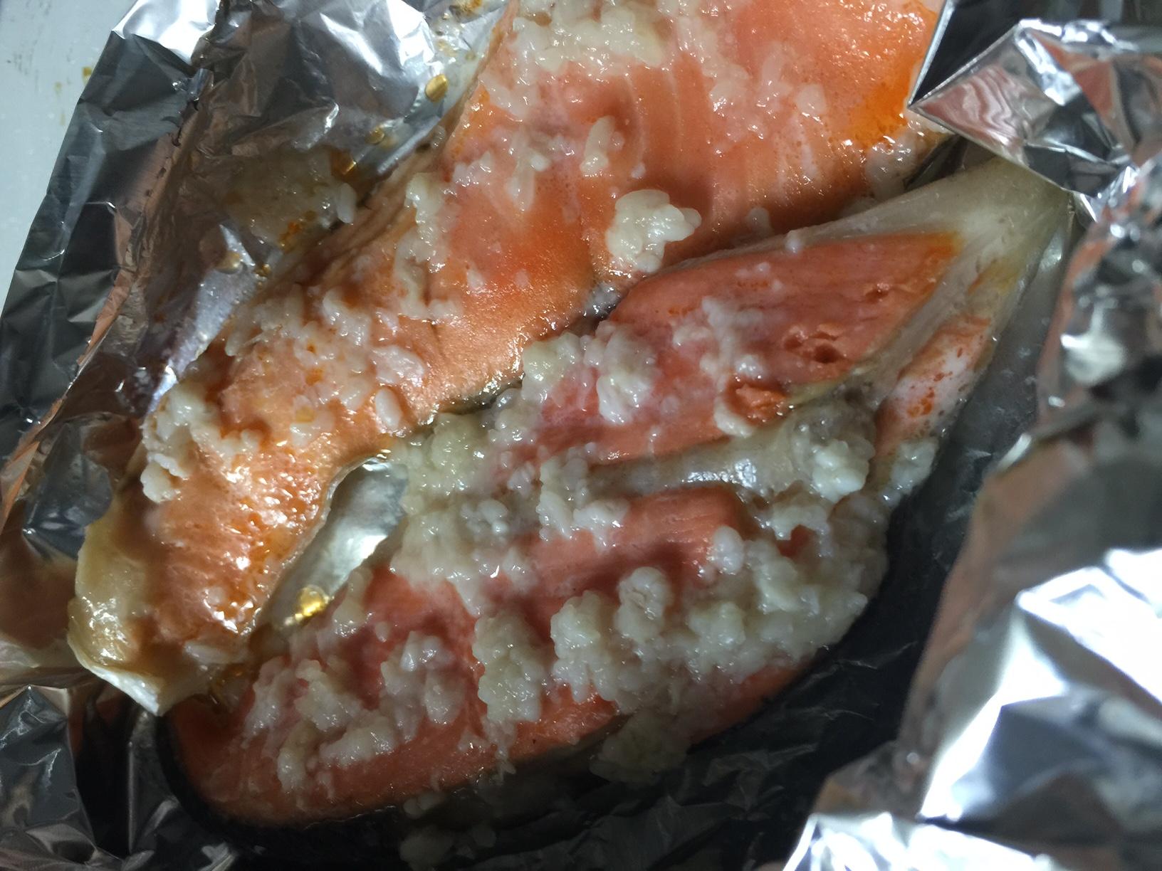 サケ塩麹漬